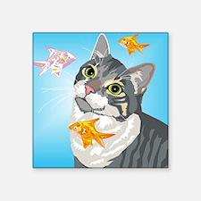 """Scifi Square Sticker 3"""" x 3"""""""