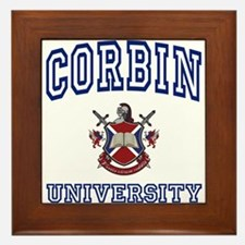 CORBIN University Framed Tile