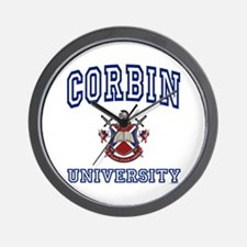 CORBIN University Wall Clock