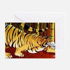 tigerbamboo11x17 posters Greeting Card