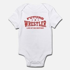 Future Wrestler Like My Big Brother Infant Bodysui