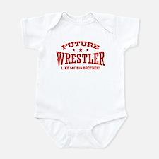 Future Wrestler Like My Big Brother Onesie