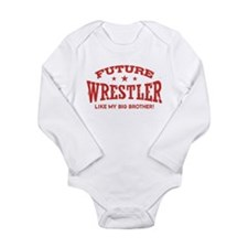 Future Wrestler Like My Big Brother Long Sleeve In