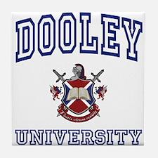 DOOLEY University Tile Coaster