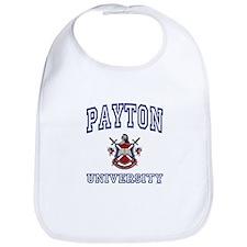 PAYTON University Bib