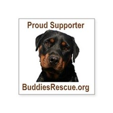 """2-proud_supporter_1 Square Sticker 3"""" x 3"""""""