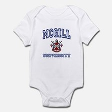 MCGILL University Infant Bodysuit