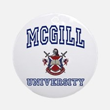 MCGILL University Ornament (Round)