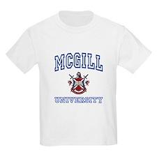 MCGILL University Kids T-Shirt