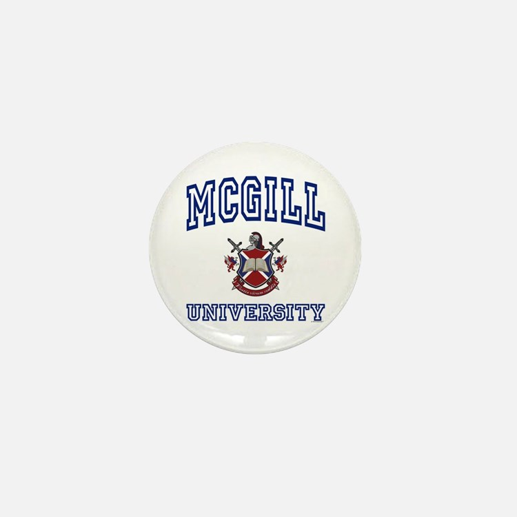 Mcgill button mcgill buttons pins badges cafepress for Personalized last name university shirts
