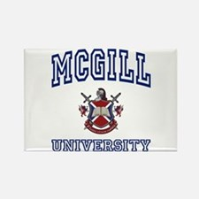 MCGILL University Rectangle Magnet