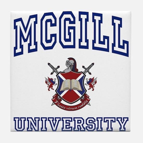 MCGILL University Tile Coaster