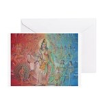 Hindu Deities Greeting Cards (Pk of 10)