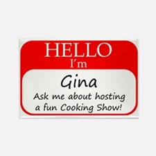 Gina Rectangle Magnet