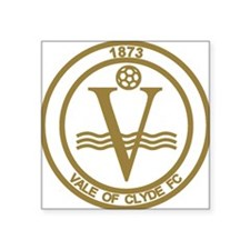 """Vale of Clyde Football Club Square Sticker 3"""" x 3"""""""