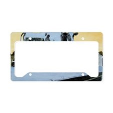 BessieColorLarge License Plate Holder