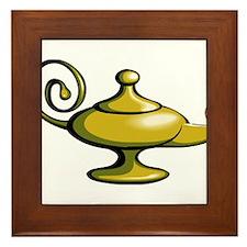Genie Lantern Framed Tile