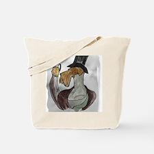 NY washed edge Tote Bag