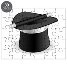 Magician Hat and Wand Puzzle