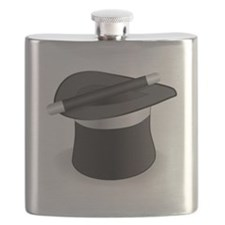 Magician Hat and Wand Flask