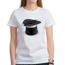 Magician Hat and Wand T-Shirt
