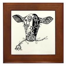 cowbw Framed Tile