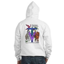 Jumper Hoody - Surrounded on back