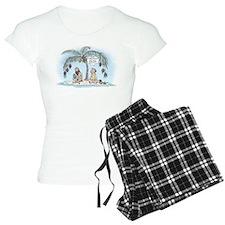 Island Christmas Gift pajamas