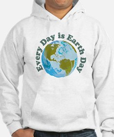 Earth_Button Hoodie
