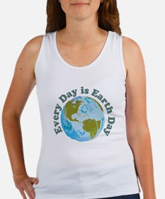 Earth_Button Women's Tank Top