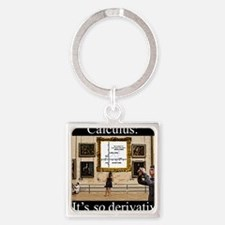 calculus Square Keychain