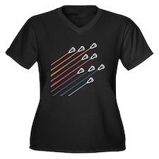 Lacrosse Fliers W Plus Size T-Shirt