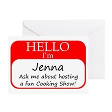 Jenna Greeting Card