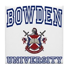 BOWDEN University Tile Coaster
