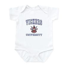 VICKERS University Infant Bodysuit