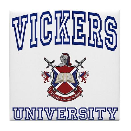 VICKERS University Tile Coaster