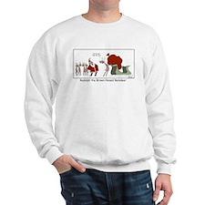 Brown Nosed Reindeer Sweater