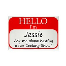 Jessie Rectangle Magnet