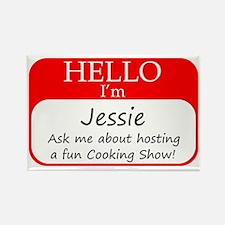 Jessie Rectangle Magnet