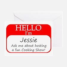 Jessie Greeting Card