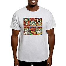 Day of the Dead Sugar Skulls T-Shirt
