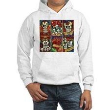 Day of the Dead Sugar Skulls Jumper Hoody