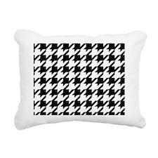 Houndstooth Rectangular Canvas Pillow