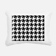 Houndstooth Rectangular Canvas Pillow