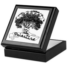peace_in_palestine_t_shirt Keepsake Box