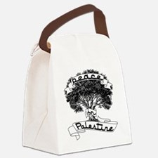 peace_in_palestine_t_shirt Canvas Lunch Bag
