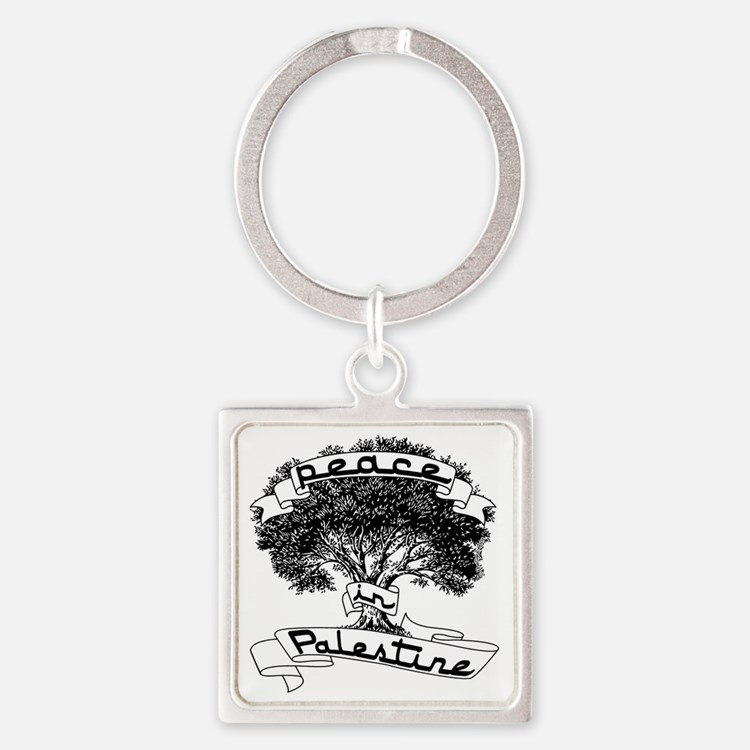 peace_in_palestine_t_shirt Square Keychain
