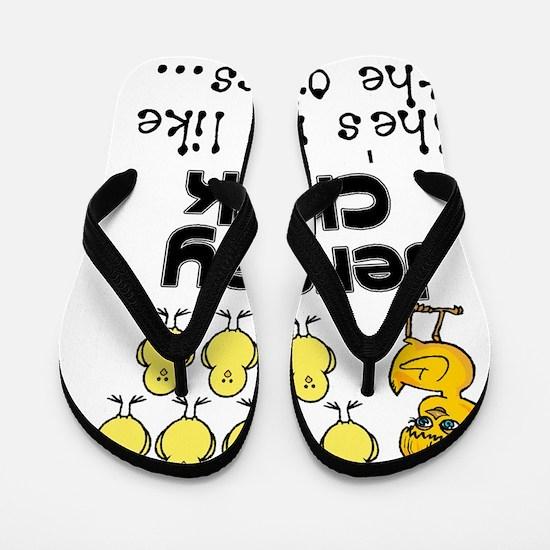 jersey chick1 Flip Flops