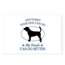 Anything your dog can do my beagle can do better P
