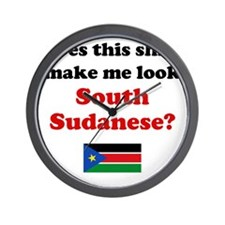 South Sudanese Light Wall Clock